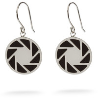 Portal 2 Aperture Logo Earrings