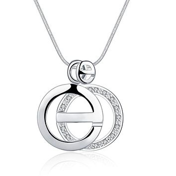 Giselle Necklace 925 Sterling Silver Plated