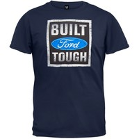 Ford - Built Tough Stamp Navy Blue T-Shirt