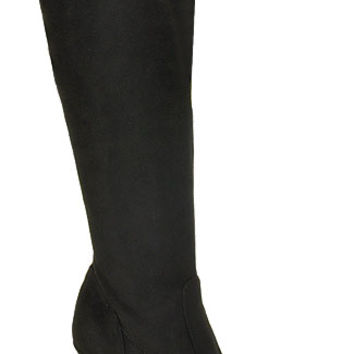 Vaneli - Castaly - Stretch Suede Tall Boot