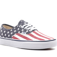 VANS VAN DOREN AUTHENTIC - STARS & STRIPES