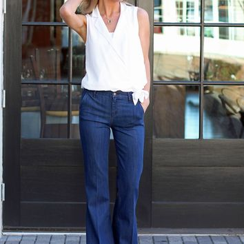 High Waist Flare Jeans-Level 99 Tanya High Rise Flare-Tucker-$128.00 | Hand In Pocket Boutique
