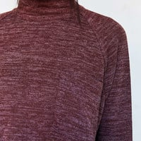 BDG Layne Marled Mock Neck Sweater - Urban Outfitters