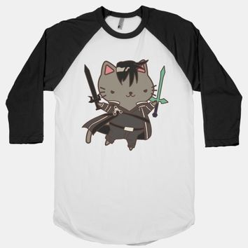 Cat Cosplay Kirito | T-Shirts, Tank Tops, Sweatshirts and Hoodies | HUMAN