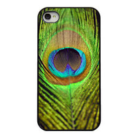 Peacock Iphone cover  Iphone 4 and 4s case  by RetroLoveCases