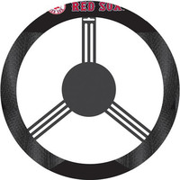 Boston Red Sox MLB Poly-Suede Steering Wheel Cover