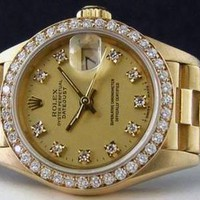 ROLEX Ladies Fashion Casual Trending Quartz Watches Wrist Watch high quality