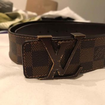 Louis Vuitton Belt Men 100% Authentic