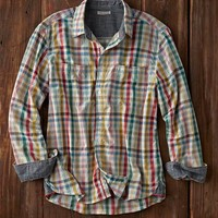 Effortlessly Cool Men's Shirts - Rendezvous Plaid - Carbon2Cobalt
