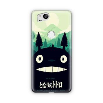 My Neighbor Totoro Blue Google Pixel 3 XL Case | Casefantasy
