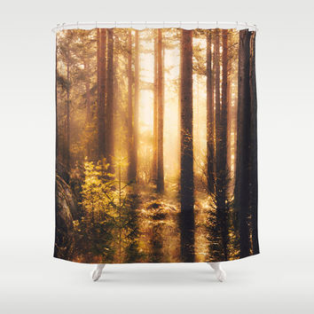 Take me! Shower Curtain by HappyMelvin