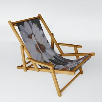 A little pretty, A little Messed up Sling Chair by duckyb
