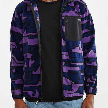 Stussy Geo Camo Polar Fleece Jacket