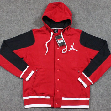 NIKE AIR JORDAN Fashion Hooded Casual Sweater Jacket