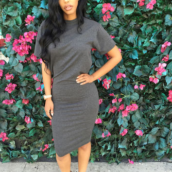 Adina T-Shirt Dress | Sonya Bee's Boutique