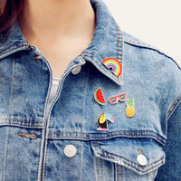 Denim Pins