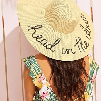 Head in the Clouds Floppy Hat