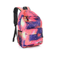 Fasion Galaxy Starry Sky Unisex Girls  Teenagers Bookbag Backpack