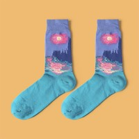 Parliament at Sunset Sock