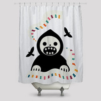 Melody Of The Death Shower Curtain