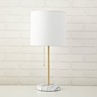 URBAN SHOP ROSE GOLD METALLIC STICK LAMP - Walmart.com