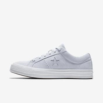 CONVERSE ONE STAR PLUSH SUEDE WATER REPELLENT