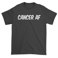 Cancer AF As F-ck Zodiac Mens T-shirt