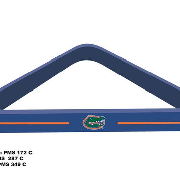 University of Florida Billiard Ball Triangle Rack