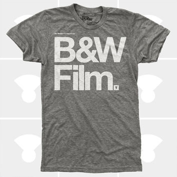 Black & White Film TShirt (Men)