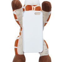 Stuffed Giraffe iPhone 5/5S Case | Wet Seal