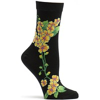 Apothecary Florals Primrose Sock