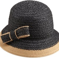 Jessica Simpson Women's Textured Cloche Hat