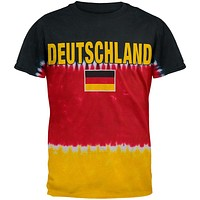German Flag Tie Dye T-Shirt