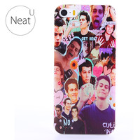 for iphone 4/4s 5/5s 6/6s 6plus/6s plus Dylan O'Brien hard phone case Cell Transparent Phones Back cover