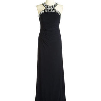 Xscape Embellished Evening Gown