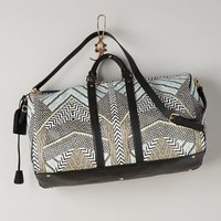Graphic Weekender by Hale Bob Black & White One Size Bags