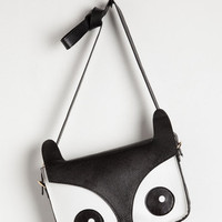 Quirky Critter Me Timbers Bag in Black by ModCloth
