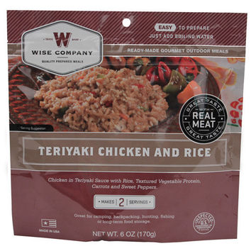 Entrée Dish Teriyaki Chicken with Rice, 2 Servings