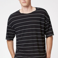 PacSun Arcana Linen Striped Relaxed T-Shirt at PacSun.com