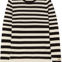 Bella Freud - Skinny Minnie striped wool and cashmere-blend sweater