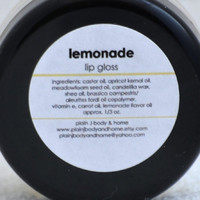 Lemonade Lip Gloss by plainjbodyandhome on Etsy