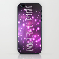 Everything Has Changed. iPhone & iPod Skin by Amber Rose | Society6