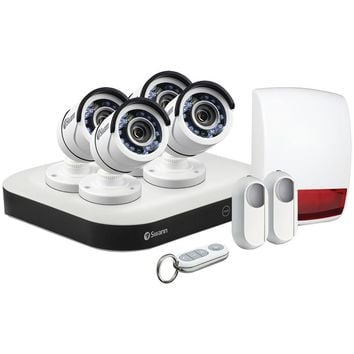 Swann Smart Series 8-channel 1080p Dvr With 4 Pro-t853 Cameras