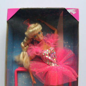 Vintage Mattel Twirling Ballerina Barbie Doll NEW 1995