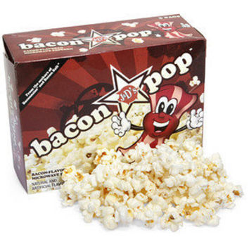 ThinkGeek :: BaconPop - Bacon Flavored Popcorn