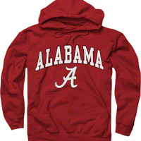 Alabama Crimson Tide Crimson Perennial II Hooded Sweatshirt