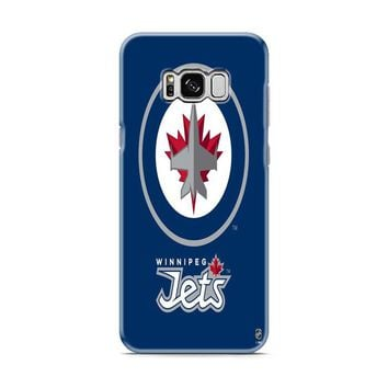 Winnipeg Jets Logo blue Samsung Galaxy S8 | Galaxy S8 Plus case