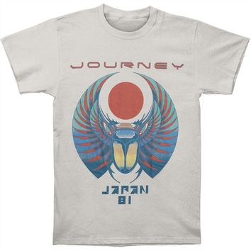 Journey Men's  Japan 81 T-shirt Silver