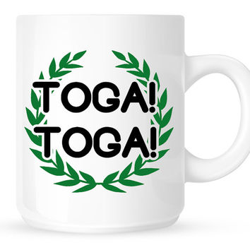 Toga! Toga! Coffee Mug - Movie Quote from Animal House