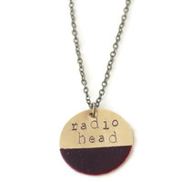 Radiohead Necklace